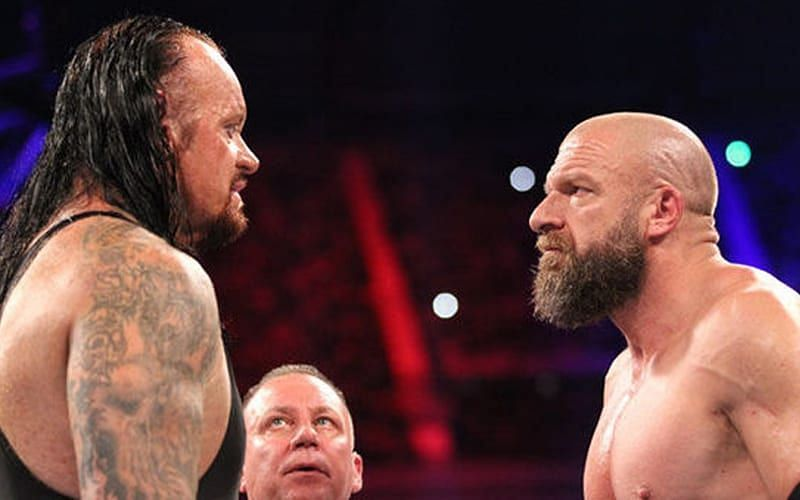 The Undertaker and Triple H.