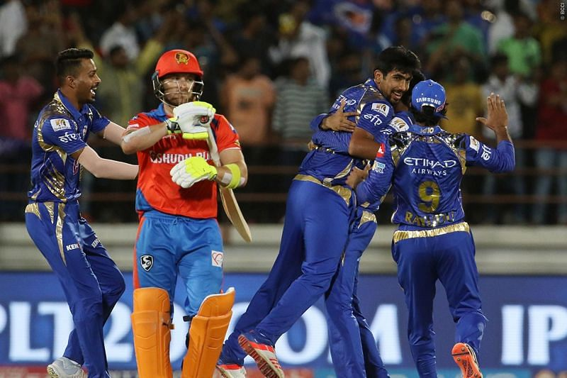 Jasprit Bumrah held his nerve and delivered the goods in the Super Over for MI.