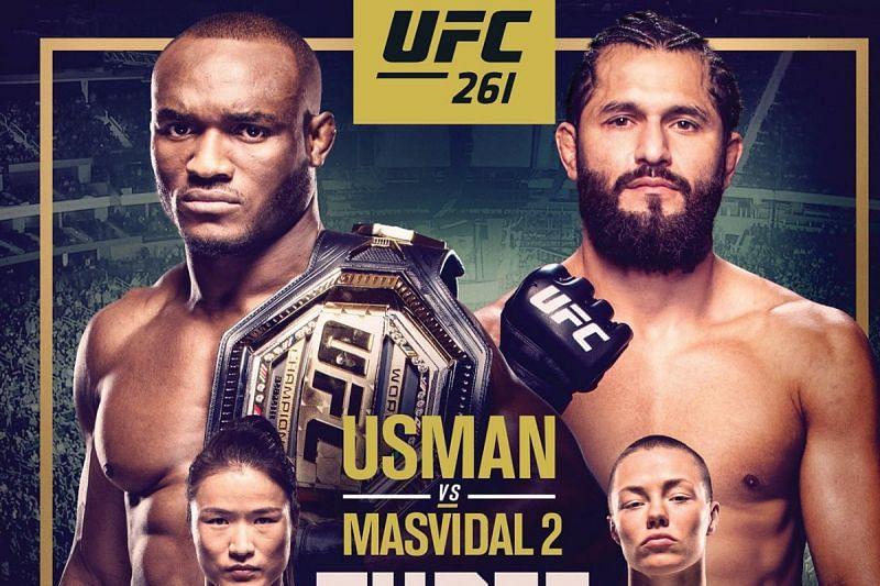 UFC 261 via Twitter