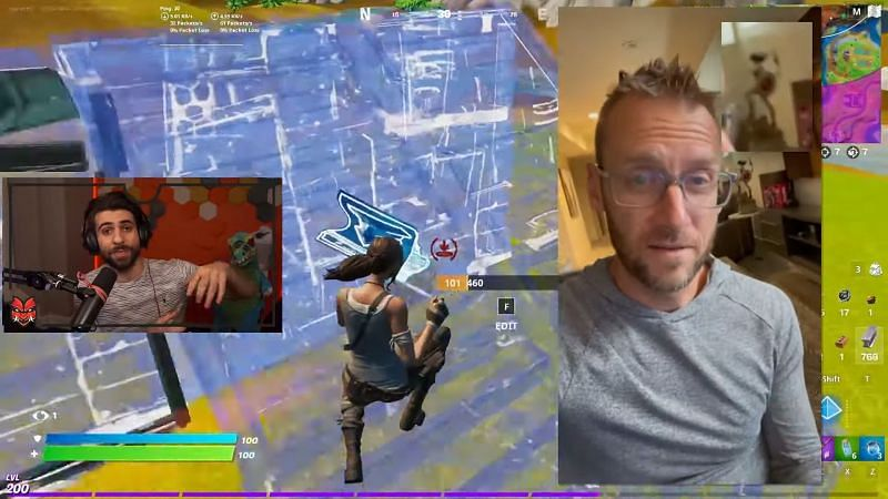 SypherPK says that Wonder Woman may be coming to Fortnite (Image via YouTube, SypherPK)