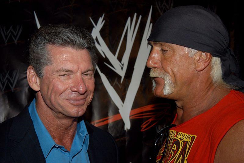 Vince McMahon and Hulk Hogan (Credit: Getty)