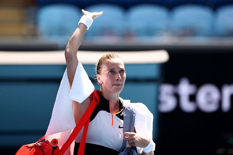 Petra Kvitova will look to set herself up well for the clay court season.