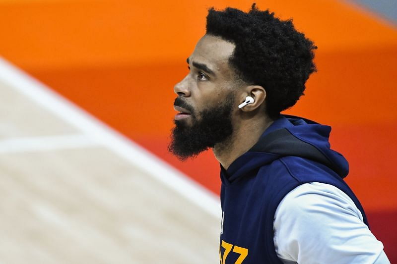 Mike Conley with the Utah Jazz