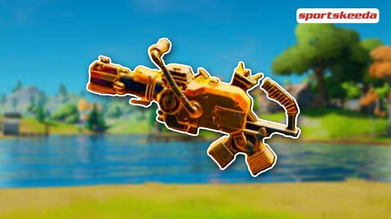 Everything to know about the Mythic Recycler in Fortnite Season 6 (Image via Sportskeeda)