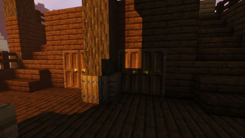 Making the interior of the ship in Minecraft