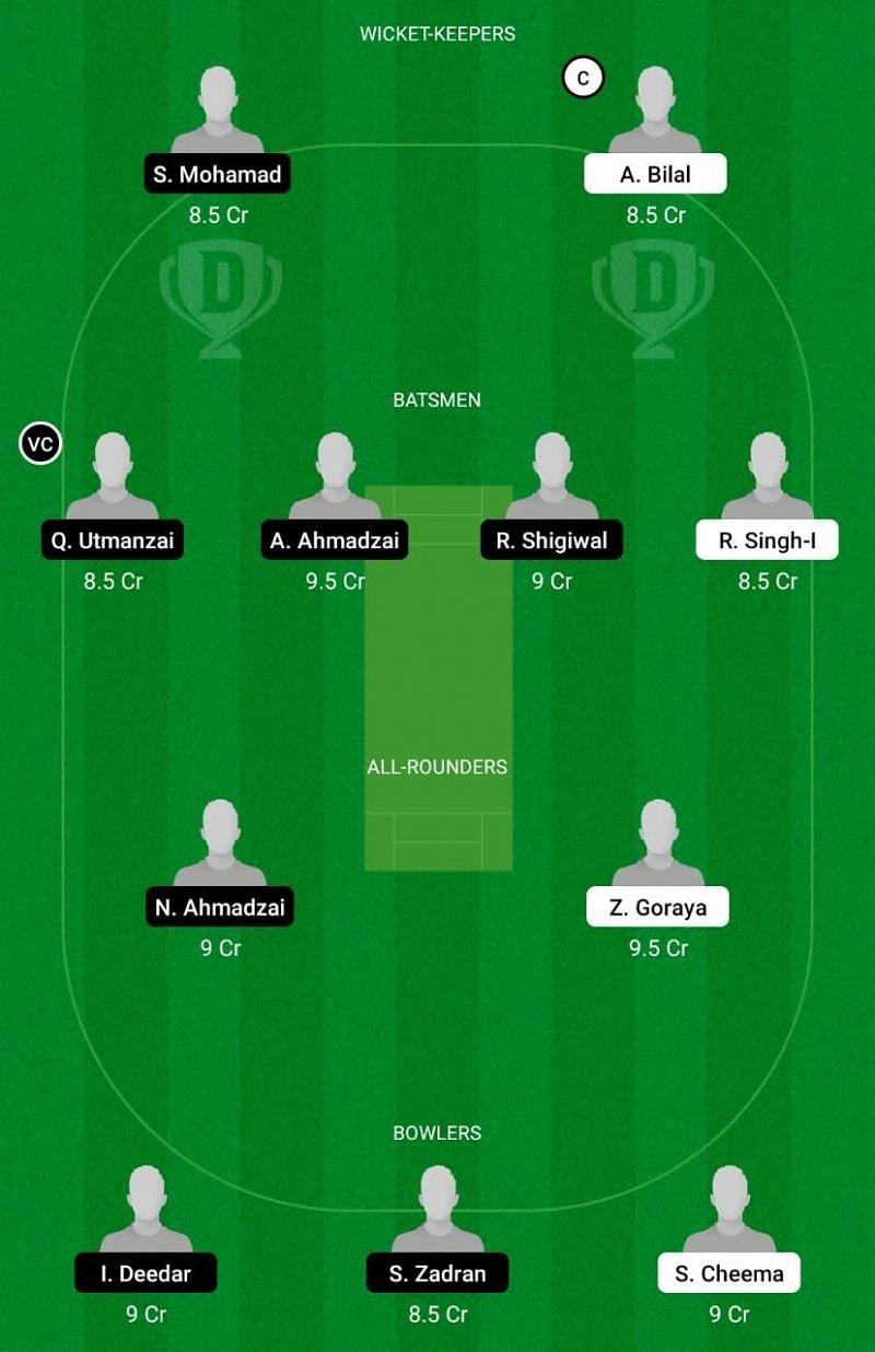 SAL vs VIA Dream11 Team