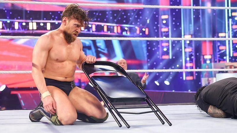 "Daniel Bryan said he felt ""detached"" during the WrestleMania main event (Credit: WWE)"