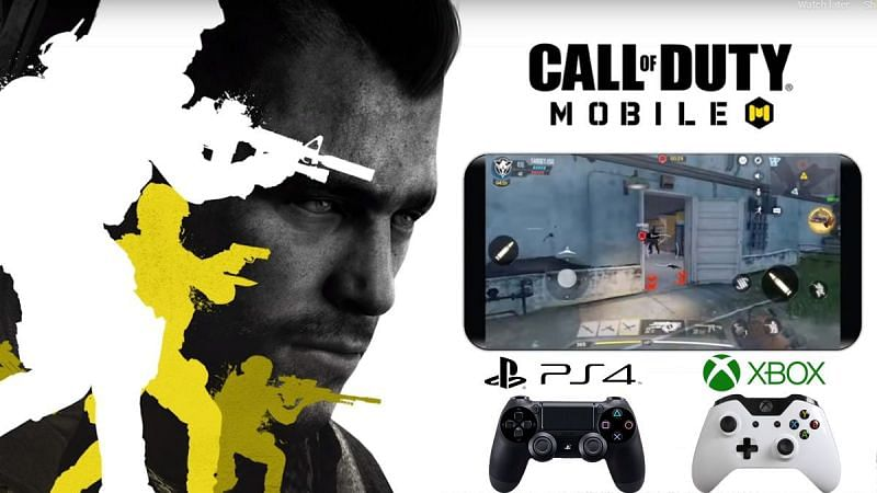 COD Mobile with Controller [Image Via TechGenyz]
