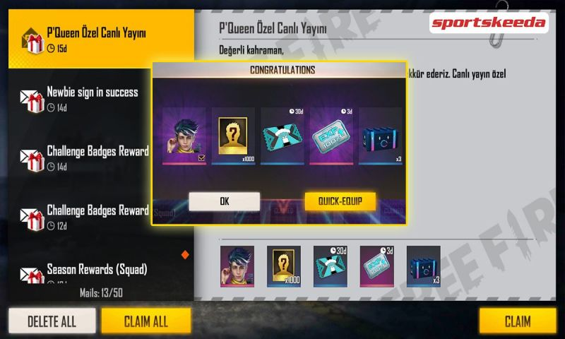 The Free Fire redeem codes for 22nd April have been released