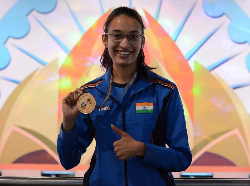 25m pistol shooter Chinki Yadav in reserve team for Tokyo Olympics 2021 (Image source: Indianshooting.com)