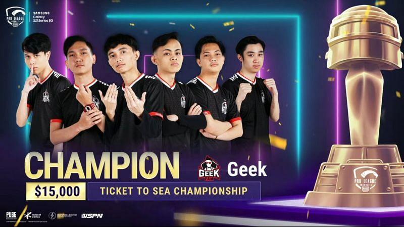 PUBG Mobile: Geek Fam crowned PMPL Season 3 Indonesia champions