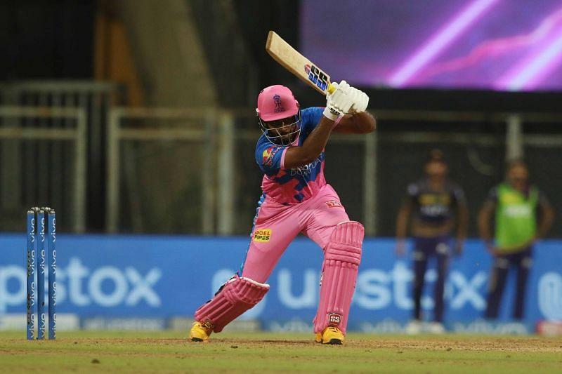 Sanju Samson batted responsibly to take his side over the line. (Image Courtesy: IPLT20.com)