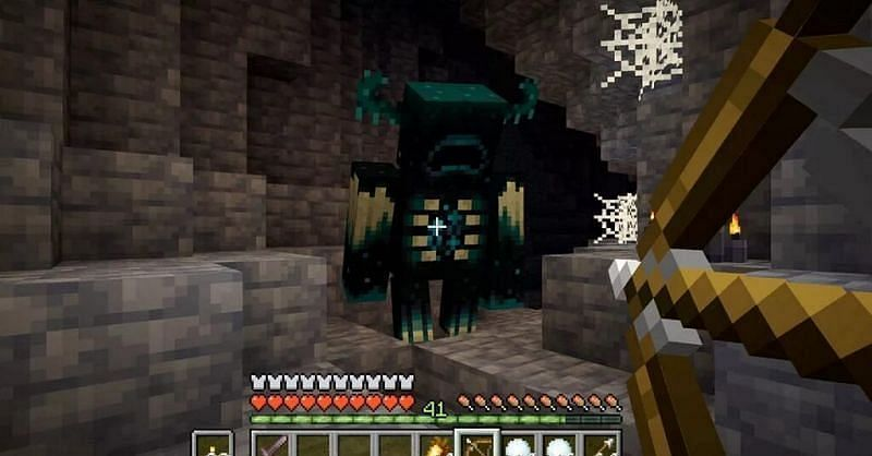 Wardens are the newest mobs in the game (Image via Mojang)