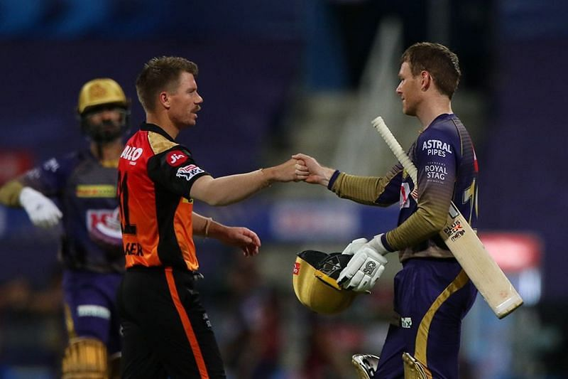 David Warner and Eoin Morgan, the only overseas skippers in the IPL, lock horns on April 11.