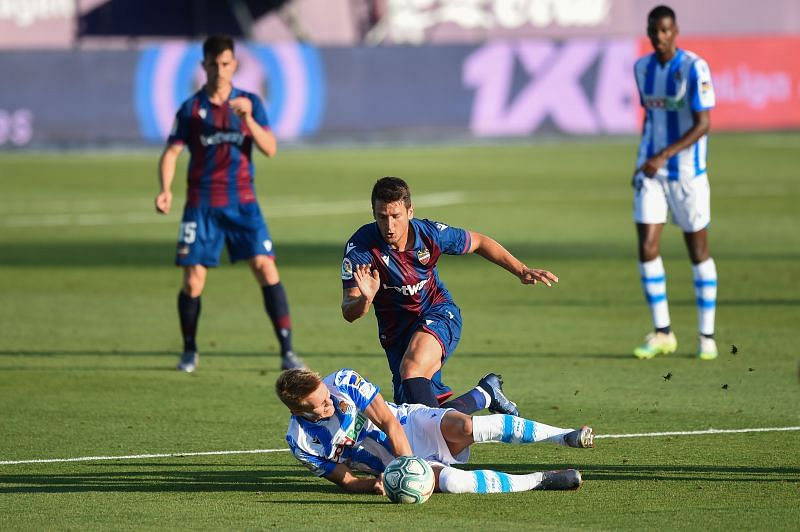 Levante have a few injury concerns
