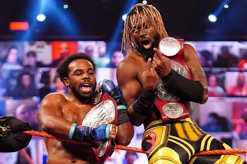 Kofi Kingston and Xavier Woods