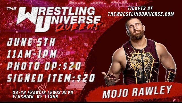 Mojo Rawley at The Wrestling Universe