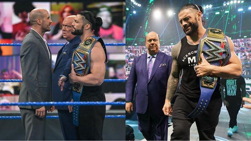 सिजेरो vs WWE यूनिवर्सल चैंपियन रोमन रेंस