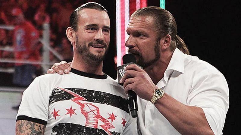 CM Punk and Triple H