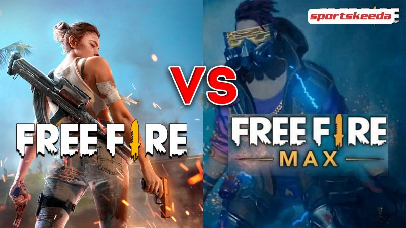 Free Fire Max is the upgraded version of the original title (Image via Sportskeeda)