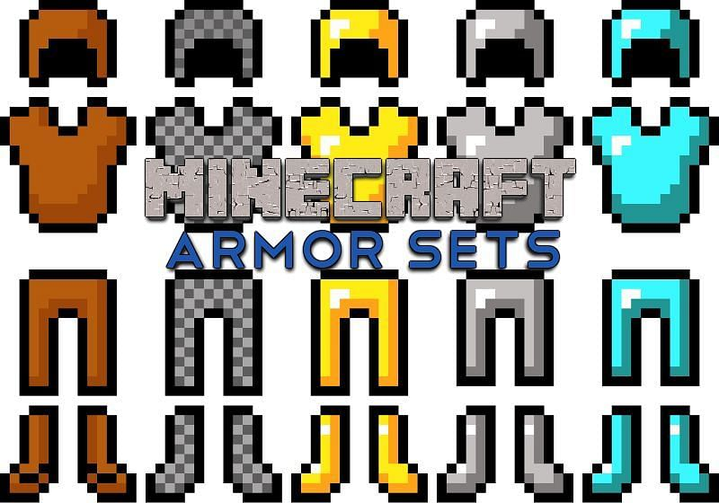 Netherite armor is the best armor in Minecraft but is very rare (Image via Minecraft Guides)