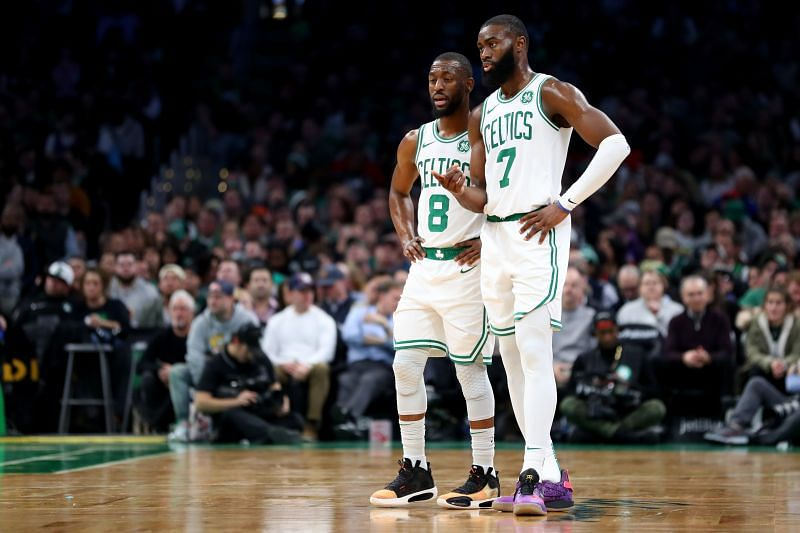 The Boston Celtics will hope for the return of Walker and Jaylen Brown