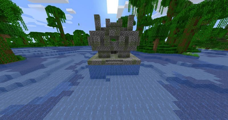 Minecraft players can find bamboo in Jungle Temples located in the Jungle Biomes of Minecraft (Image via Minecraft wiki)
