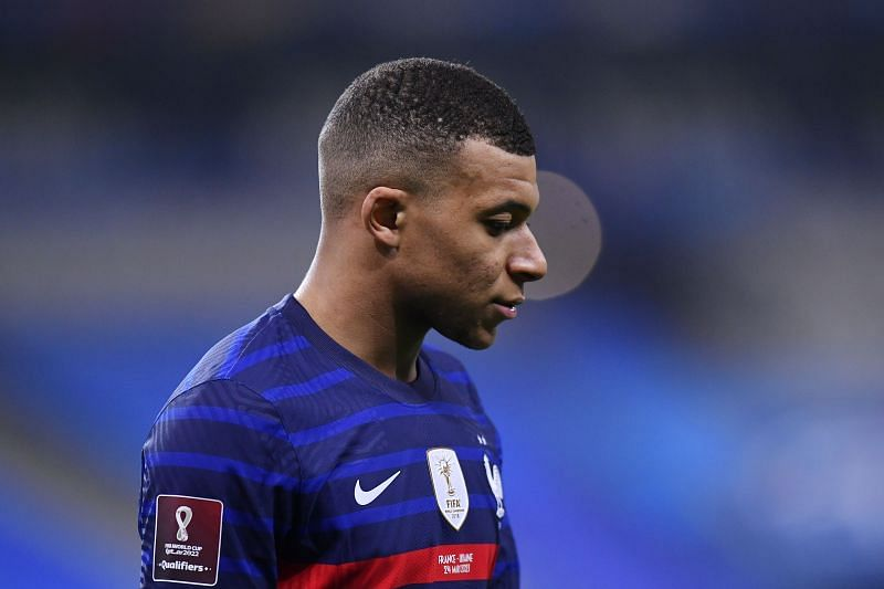 Kylian Mbappe is yet to come to an agreement with PSG over a new contract