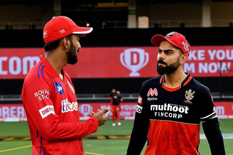KL Rahul (left)