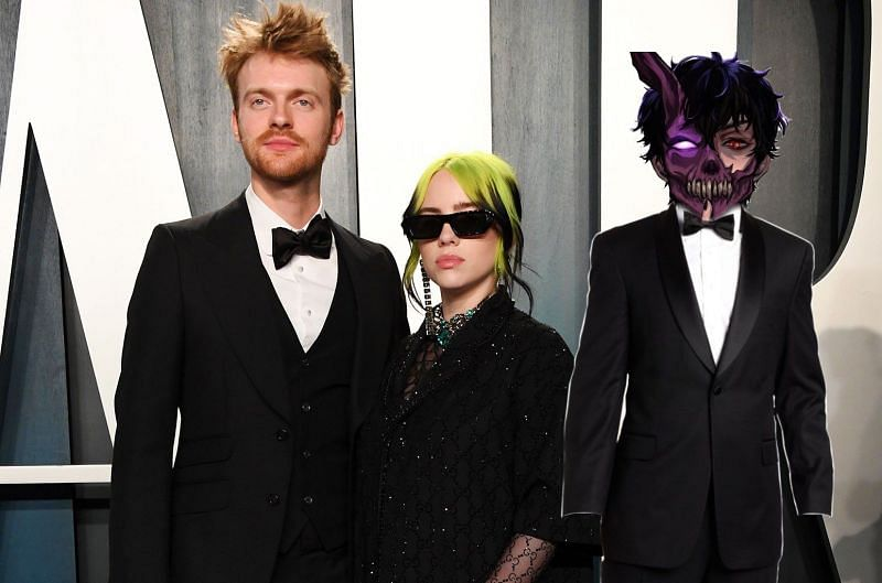 Could a Corpse Husband x FINNEAS x Billie Eilish collaboration actually take place? (Image art via Jason/ IdleCorpse/ Twitter)