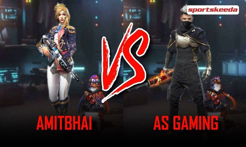 Amitbhai and AS Gaming in Garena Free Fire