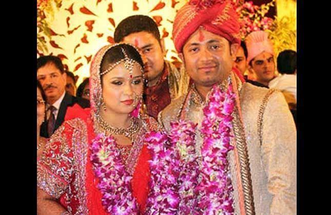 Piyush Chawla wedding with Anubhuti Chauhan