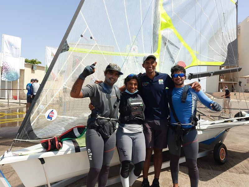 India secures three sailing quotas for the Tokyo Olympics (Source: Dr Malav Shroff OLY/Twitter)