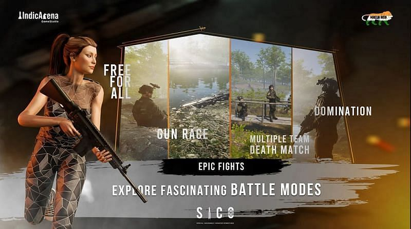 Different game modes of SICO