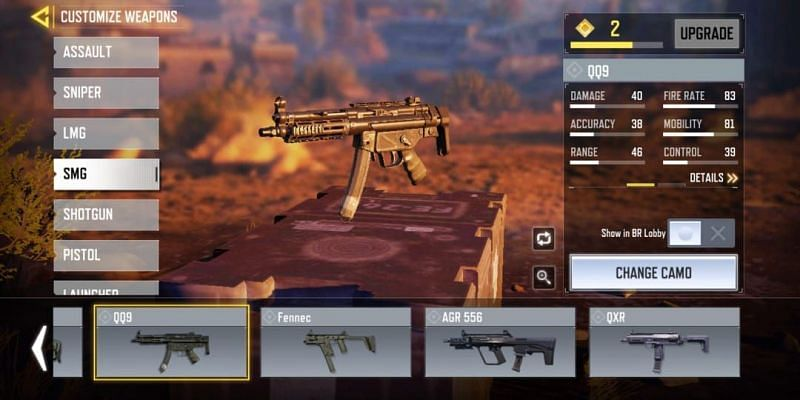 QQ9 with in-game stats (Image via Activision)