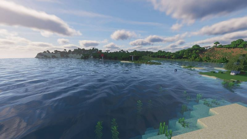 Minecraft shaders can take the gameplay experience of players to a whole different level (Image via PCGamesN)