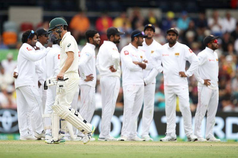 Australia vs Sri Lanka - 2nd Test: Day 1