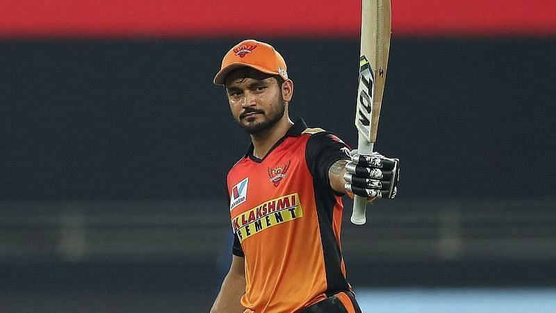 Manish Pandey scored a fifty.