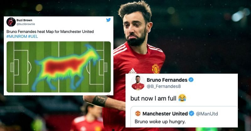 Bruno Fernandes and Edinson Cavani were in top form for Manchester United