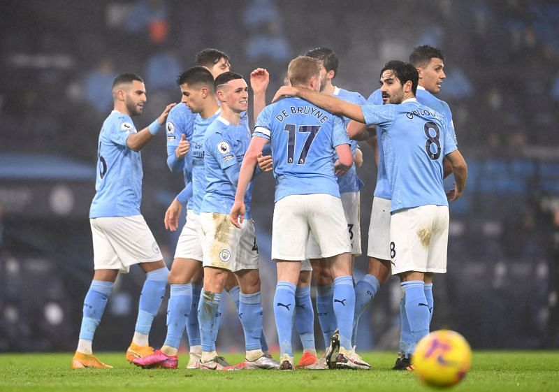 Manchester City have a strong squad