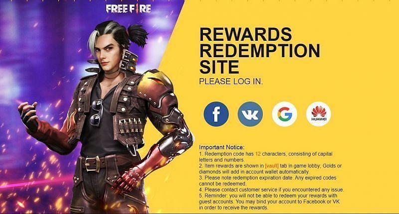 Redemption site