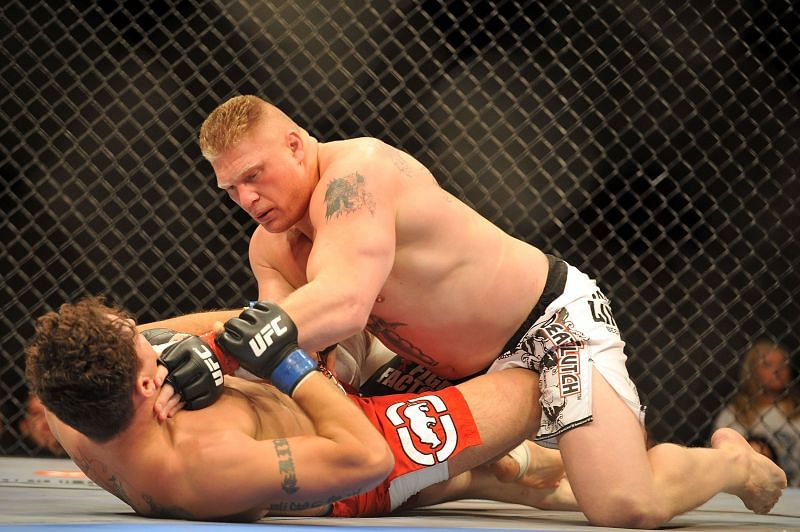 UFC 100 - Frank Mir v Brock Lesnar at the Mandalay Bay Events Center