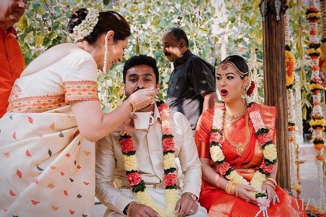 Marriage of Karun Nair and Sanaya Tankariwala Pics