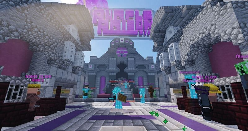 Purple Prison is an OG Minecraft prison server; now over 7 years old