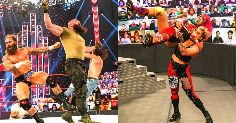 There were some great moments on RAW before WrestleMania 37