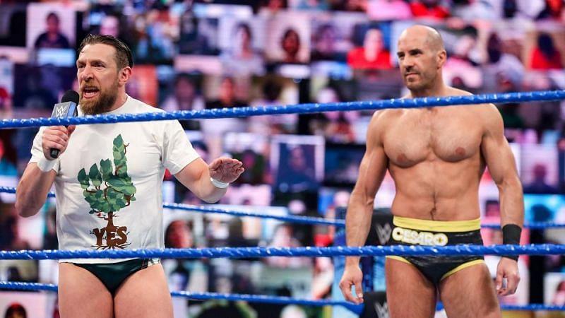 Daniel Bryan and Cesaro