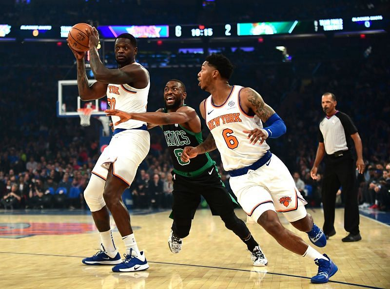 The Knicks emerged victorious in the last contest between the two sides