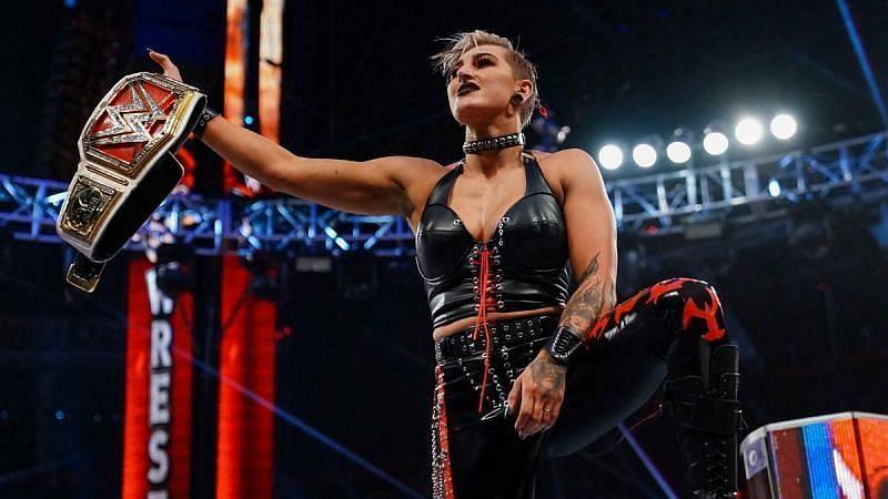 WWE Raw विमेंस चैंपियन रिया रिप्ली