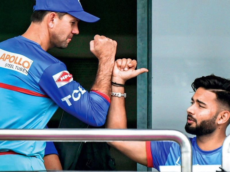 Rishabh Pant and Ricky Ponting are running the show for DC now.