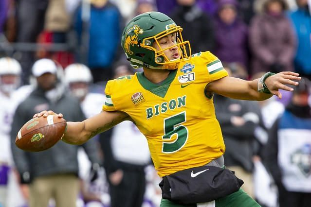 North Dakota State Bison QB Trey Lance will be under center in San Francisco next season